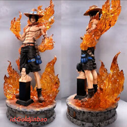 One Piece Portgas·d· Ace 1/4 Resin Model Painted Statue In Stock M3 Studio Led
