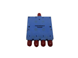 Pasternack Pe2024 4 Way Sma Power Divider From 12 Ghz To 18 Ghz Rated At 30 Watt