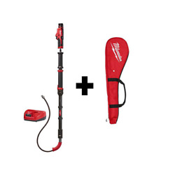 12 Volt Lithiumion Cordless 6ft Trapsnake Toilet Auger Drain Cleaning Power Tool