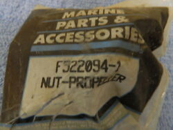 Mercury Marine Part F522094-1 Prop-nut, Force, Chrysler Outboards