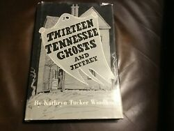 Fun Ghost Book--thirteen Tennessee Ghosts And Jerry--great Halloween Book,look