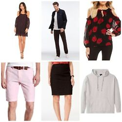 50 Pcs New Wholesale Lot Womens And Mens Clothing- Major Brand Names Designers