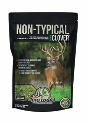 Biologic Non-typical Clover Food Plot Seed For Deer 8-pound Plants 1 Acre