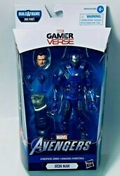 Marvel Legends Avengers Game W2 IRON MAN 6in Figure BAF Mr Fixit IN STOCK