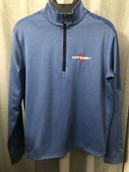 Menandrsquos Callaway Odyssey Tour Weather-series 1/4 Zip Golf Pullover