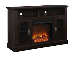 Ameriwood Home Chicago Electric Fireplace Tv Console For Tvs Up To A 50, Esp...