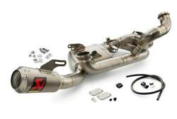 Ktm Akrapovic Evolution Line Exhaust 1290 Super Duke R 2020 New