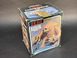 Vintage 1983 Star Wars Return Of The Jedi Rancor Monster Opened For Picture,