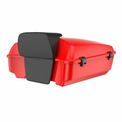 Scarlet Red Chopped Tour Pack 2-up Mounting Bracket Rack For 1997-2020 Harley