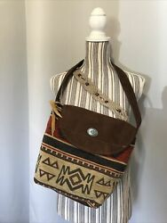 Az Totes Women#x27;s Southwestern Multicolor Hobo Bag $30.00