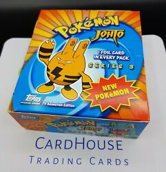 Pokemon Complete Booster Box Topps Series 3 Johto Very Rare And Hard To Find Neo