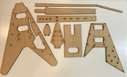 1967 Flying V Luthier Routing Templates-laser Cut