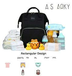 Aisparky Waterproof Extra Large Backpack Diaper Bag $19.99