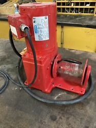 115v Ac Liftingpulling Electric Winch With 13.0 Fpm And 2000 Lb 1st Layer Cap.