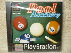 New Pool Academy Play Station Sunsoft Overseas Version Game Soft