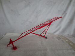 Midwest 1/64 Red Swing Boot Grain Auger 115' Farm Toy Implement L@@k