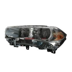 New Hid Headlight Lens And Housing Left Side Fits 2014-2018 Bmw X5 63117317109