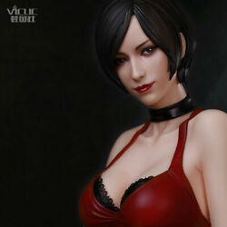 The Miss Wong 1/4 Scale Statue Resident Evil Ada Wong H19inch Figures