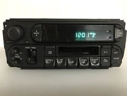 """""""ch8131"""" Chrysler Jeep Radio Receiver Cassette Player Tested , P05091555ag"""