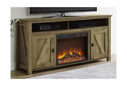 Ameriwood Home Farmington Electric Fireplace Tv Console For Tvs Up To 60, Na...
