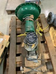 New Fisher Size 45 Control Valve Type 657 3/4 Port Dbq With 304 Switch