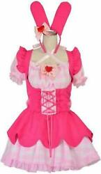 Sanrio My Melody 8mm Cosplay Maid One Piece Size L Costume Kawaii Japan