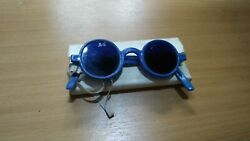 Safety Glasses For Gas Cutting.the Windows Are Dark. Round. Produced In The Ussr