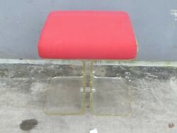 70and039s Lucite Alibaba Bench