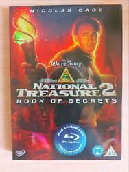 National Treasure 2 Books Of Secrets [dvd] Brand New And Sealed, Free Next Daypost