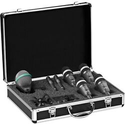 Akg Drum Set Concert I Professional Drum Microphone Set With Carrying Case