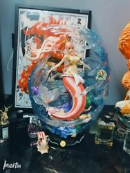 One Piece Shirahoshi Statue Mermaid Princess Focus On Gk In Stock Sculpture New