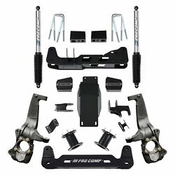 For Chevy Silverado 1500 19 Pro Comp 6 X 6 Front And Rear Suspension Lift Kit