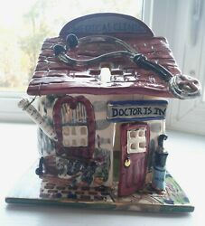 Blue Sky Clayworks/heather Goldminc Medical Clinic Candle House