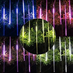 540 Leds Lights Meteor Shower Rain Tube Snowfall Christmas Wedding Party Outdoor