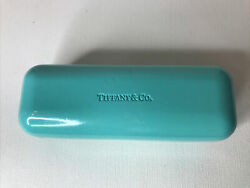 Tiffany amp; Co Signature Blue Glasses Hard Shell Case Only $12.00