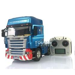 Hercules Rc 1/14 Scania Highline Tractor Truck Diy Painted Sound I6s Radio Light