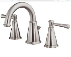 Danze Lavatory Faucet Eastham D304115bn Brushed Nickel Widespread. 4a2