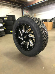 20x9 Vision 361 Spyder Black Wheels Rims 32 At Tires 6x135 Ford F150 Expedition