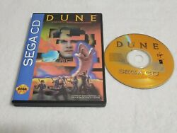 Dune Sega CD 1993 Custom Cover Art See Pic ☆Tested☆ $49.99