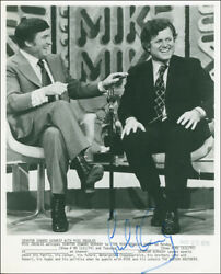 Edward M. Ted Kennedy - Photograph Signed