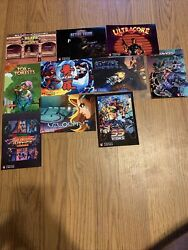 Strictly Limited Games,nintendo Switch, Post Card Lot, Post Cards Only,no Games