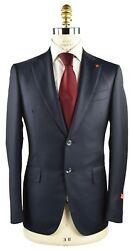New Isaia Napoli Suits 100 Wool Sz 38 Us 48 Eu 8r 18ivw2