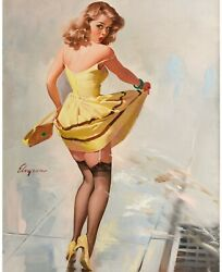 Pinup Girl - Dampened Doll 1967 Poster Canvas Picture Art Movie Car Game Film