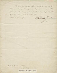 King Frederick William Iii - Autograph Letter Signed 1798