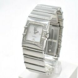 Omega Lady Constellation With Diamonds 895.1230 Quartz. Stainless Steel