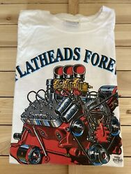 Flatheads Forever T Shirt 1970,s Big Daddy Dongarlits. Size Xl. Rare