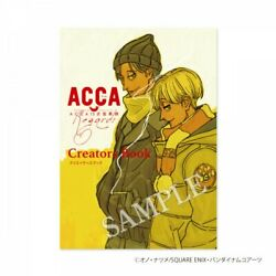 Acca 13-territory Inspection Dept Anime Creators Book Mad House Natsume Ono