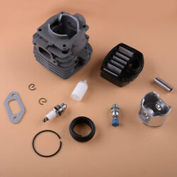 47mm Cylinder Piston Kit Fit For Husqvarna 357xp 359 357 Xp Air Fuel Filter Ring