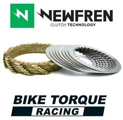 Newfren Friction And Steel Clutch Plate Kit To Fit Ktm 450 Smr 4t 04-06