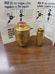 Flashback Arrestor Model Fg-7-lhandnbsp And 0-6-rh Will Fit Any Acetylene Or Propane Cyl